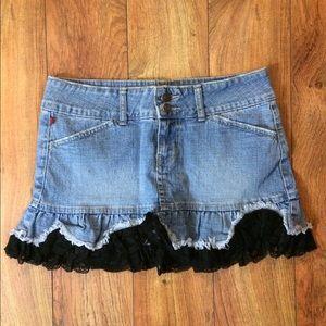 Gorgeous denim skirt